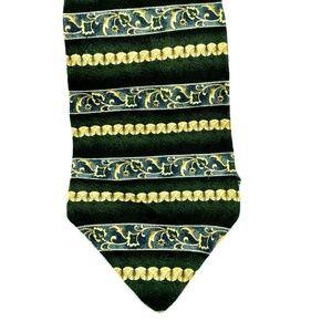 Geoffrey Beene Mens Necktie 100% Silk Tie
